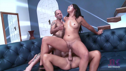 Luana Navarro  The perfect threesome