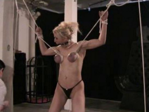 BreastsInPain - Breast Torture Play Photosession Part 2