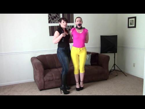 Reluctant Bondage Model BDSM