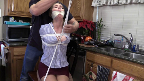 Tie me up Gag Me Bend me over the sink! You know what I want!