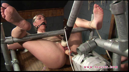 Toaxxx - (tx237) - Machine Fucked in Steel Restraints - June 4, 2016 Sex Machines