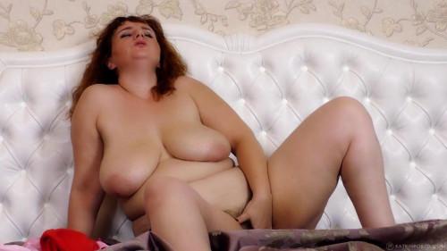 huge tit hairy milf katrin masturbate at home Masturbation