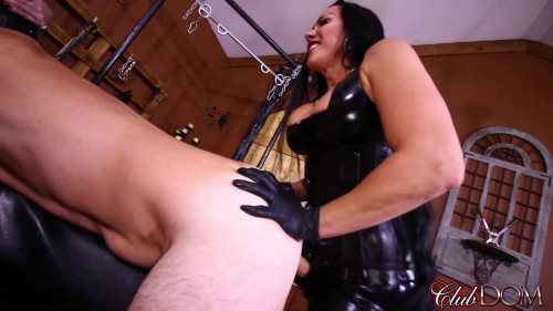 Punished By The Best Femdom and Strapon