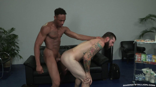 The black boy took out his hose and fucked his mate in the ass Gays