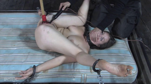 Taut tying, soreness and domination for lascivious brunette hair part FIRST HD 1080p