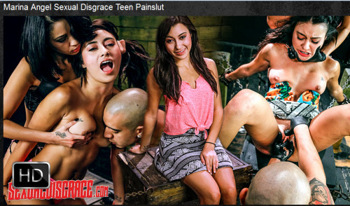 Sexualdisgrace - Feb 11, 2016 - Marina Angel Sexual Disgrace Teen Painslut