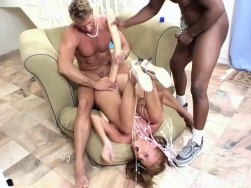 Tight pussy Fisting and Dildo
