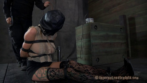 Bondage, spanking and soreness for sexy golden-haired part 1