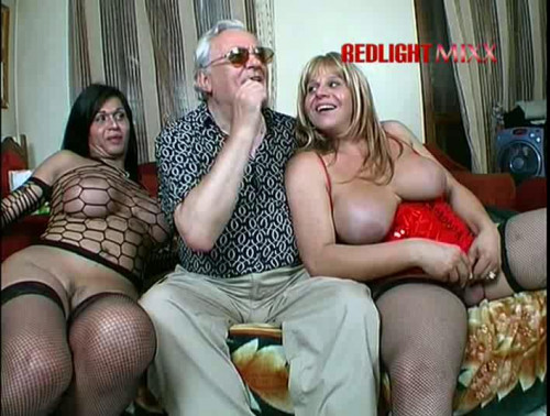 2 busty mature italian trannies fucked by lucky guy
