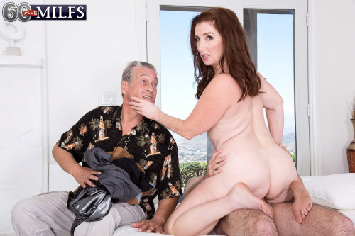 Ass-fucked by her grands's friend Public sex