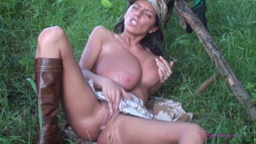 Military Big boobs