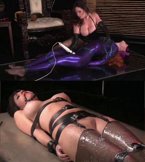Super bondage, domination and torture for two hot models