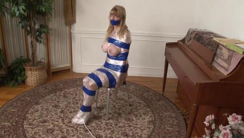 HD Bdsm Sex Videos Orgasm in Mummification for Lorelei