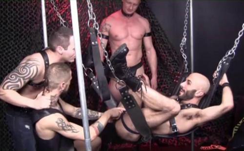 Brutal Fisting At DarkRoom Gay Unusual