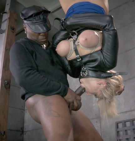 RTB - Blonde Milf orgasmblasted on sybian and does inverted deepthroat! - HD