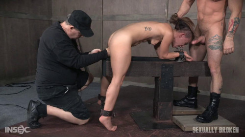 Tiny Devi Lynne gets brutally throated