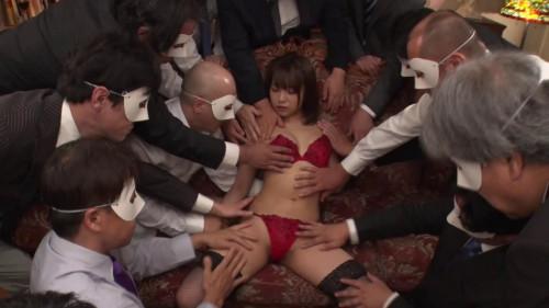 Super High-Class Bareback Creampie Gangbang Club Makoto