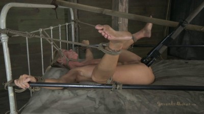 Helpless Cougar Is Sexually Destroyed - Simone Sonay