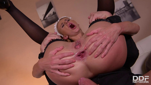 Afina Kisser Ass-Pounding Discovery Anal Sex