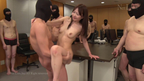 Big Gangbang Office Lady Surprise Fuck Pt. 2 - 1080p