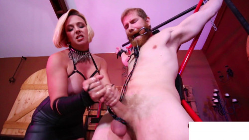 I tied you down and masturbate you