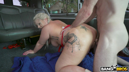 Ashley Barbie - Gram Famous Chick Hops on The Bus FullHD 1080p HD Clips