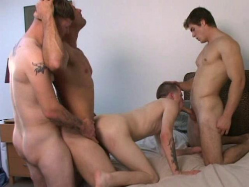 Private Gangbang With Muscle Fuckers
