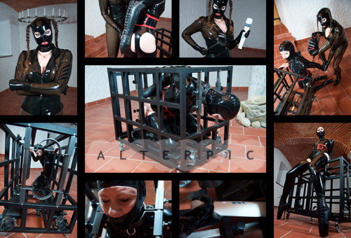 Alterpic - Charlotte in my Cage