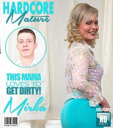 Mirka J - Horny housewife Mirka doing her toyboy FullHD 1080p
