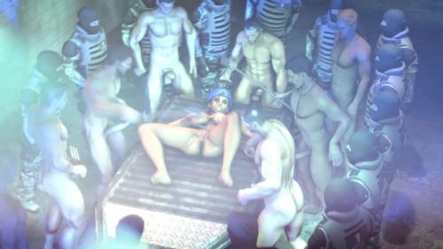 Civil War 3D Porno