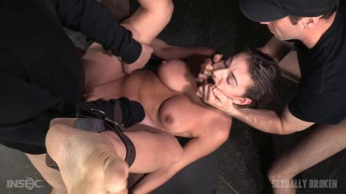 Big butt brunette Charlotte Cross