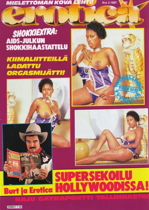 Finland's Erotica 2,3,4 Porn Magazines