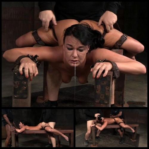 Flexible Bound & Split (London River) Sexually Broken