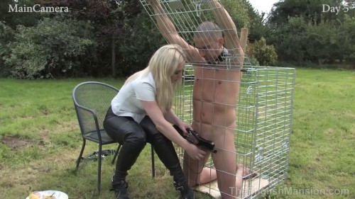 Real-Time Footage 24/7 Slavery Day Five Mistress Sidonias, Kinky Dirty (2014)