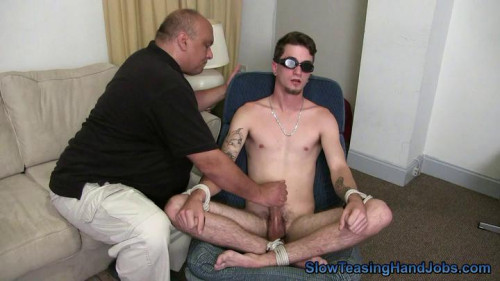 Slow Teasing Handjobs - Edged With A Fleshlight Gay BDSM