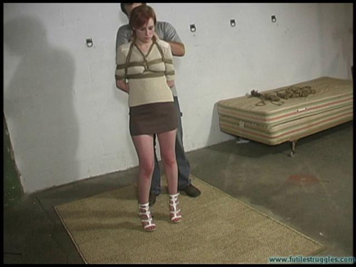 Amanda Being Tied BDSM