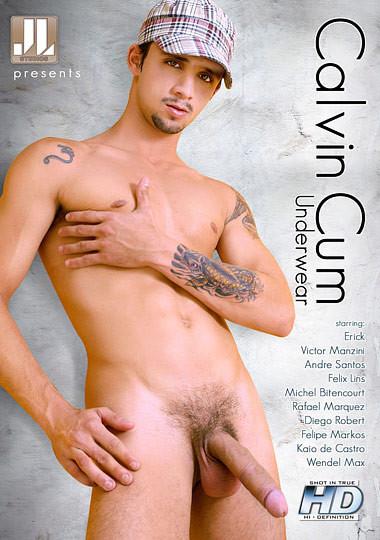 Robert Hill Entertainment - Calvin Cum Underwear Gay Movie