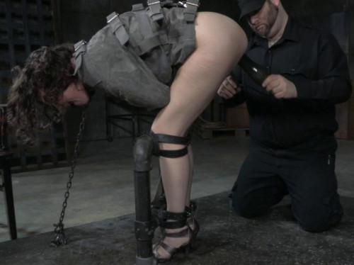 Metal Bondage For Bonnies Butt