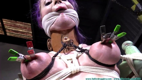 Super tying, ache and spanking for very hawt hotty HD 1080p