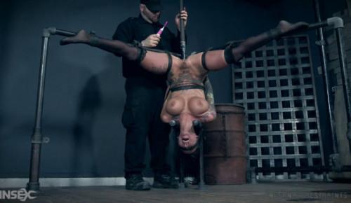 Rough bondage for Lily Lane