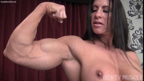 Angela Salvagno - Like Having A Cock? Female Muscle