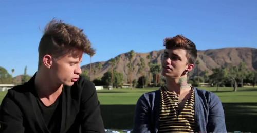 Jake Bass and Levi Karter