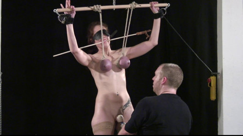 Master of Pain - Hard Breast Punishment Lesson for Slave Eve - Part 3