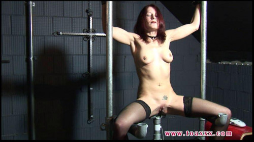 Electro Torture for Melanie in the Dungeon
