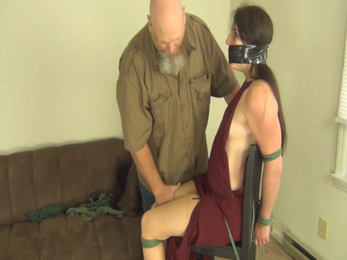 Bound And Gagged For Pleasure  Porn part 4