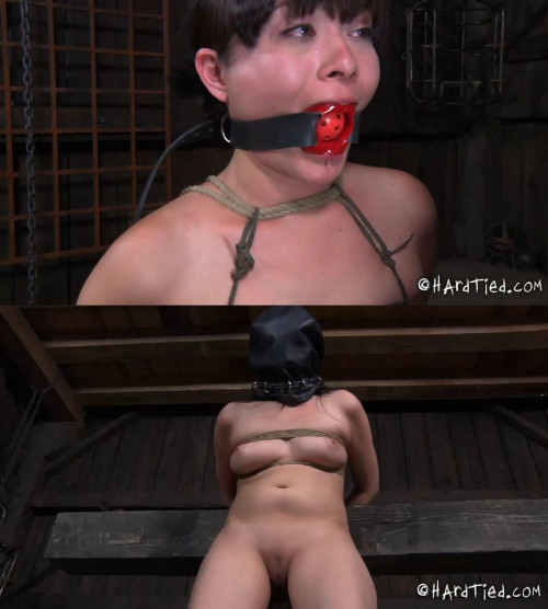 Tight bondage, domination and torture for hot naked bitch