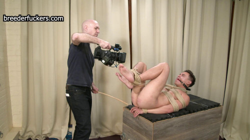 Oliver - Exposed And Tied - Fucked With A Vibrator