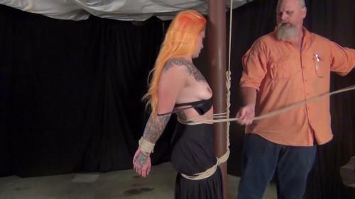 Quinn Carter: Hogtied on a Pole