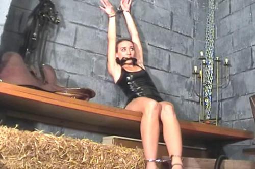 Inxesse - Angel Handcuffed in pvc Mini Dress BDSM Latex