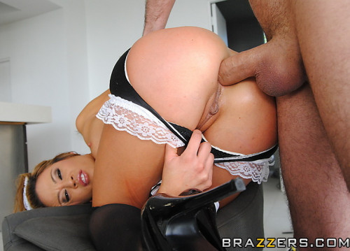 Very Sexy Ass Of A Playful Housemaid Anal